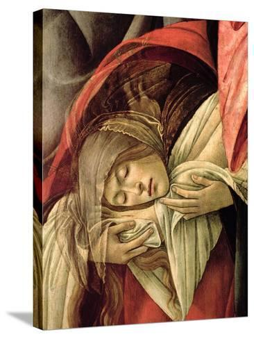 Lamentation over the Dead Christ, Detail of Mary Magdalene, 1490-1500-Sandro Botticelli-Stretched Canvas Print