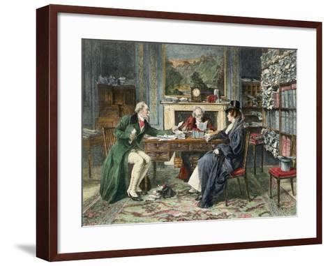 Breach of Promise, Published 1895-Walter Dendy Sadler-Framed Art Print