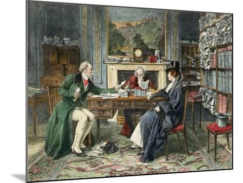Breach of Promise, Published 1895-Walter Dendy Sadler-Mounted Giclee Print