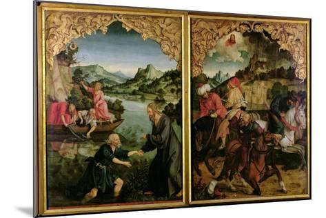 Stories of S.S. Peter and Paul Altarpiece: Vocation of St. Peter, Conversion of St. Paul-Hans Von Kulmbach-Mounted Giclee Print