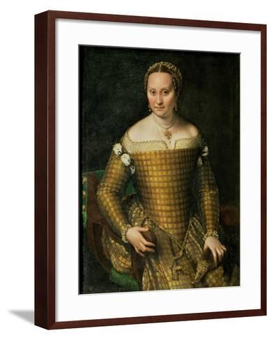 Portrait of the Artist's Mother, Bianca Ponzoni Anguisciola, 1557-Sofonisba Anguisciola-Framed Art Print