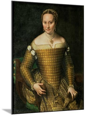 Portrait of the Artist's Mother, Bianca Ponzoni Anguisciola, 1557-Sofonisba Anguisciola-Mounted Giclee Print