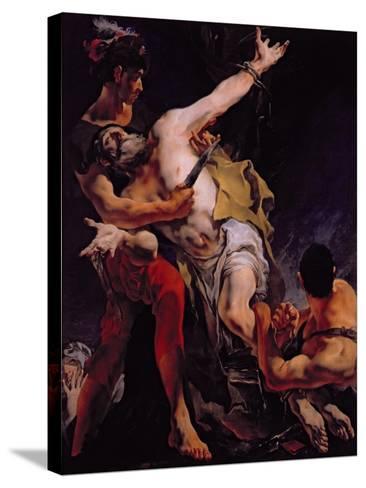 The Martyrdom of St. Bartholomew, 1722-Giovanni Battista Tiepolo-Stretched Canvas Print