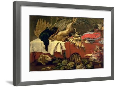 Still Life with Game and Lobster, c.1610-Frans Snyders Or Snijders-Framed Art Print