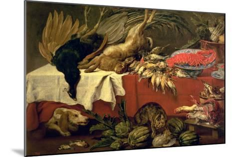 Still Life with Game and Lobster, c.1610-Frans Snyders Or Snijders-Mounted Giclee Print