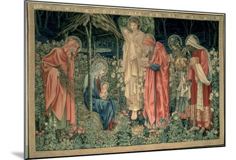 The Adoration of the Magi, Made by William Morris and Co., Merton Abbey-Burne-Jones & Morris-Mounted Giclee Print