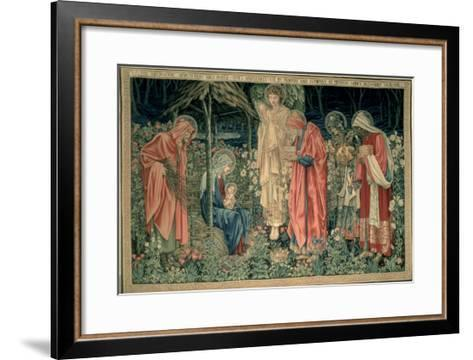 The Adoration of the Magi, Made by William Morris and Co., Merton Abbey-Burne-Jones & Morris-Framed Art Print