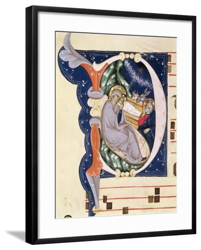 Nativity, Monastery of San Jacopo Di Ripoli, Early 14th Century-Cimabue-Framed Art Print