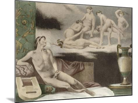 Ancient Times, Plate Xi from De Figuris Veneris by F.K Forberg, Engraved by Artist, 1900-Edouard-henri Avril-Mounted Giclee Print