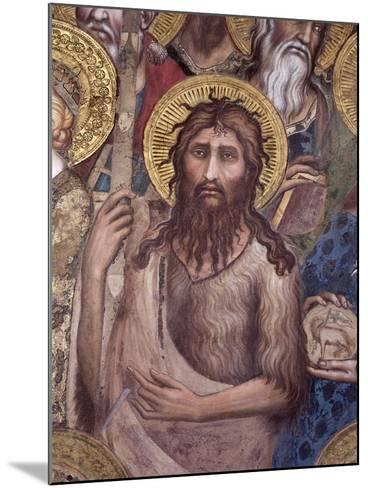 Maesta: St. John the Baptist, 1315-Simone Martini-Mounted Giclee Print