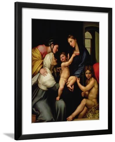 Madonna Dell'Impannata-Raphael-Framed Art Print