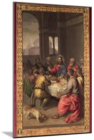 The Last Supper-Titian (Tiziano Vecelli)-Mounted Giclee Print
