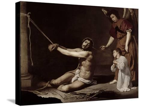Christ After the Flagellation Contemplated by the Christian Soul, c.1628-9-Diego Velazquez-Stretched Canvas Print