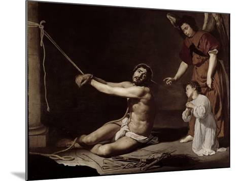 Christ After the Flagellation Contemplated by the Christian Soul, c.1628-9-Diego Velazquez-Mounted Giclee Print