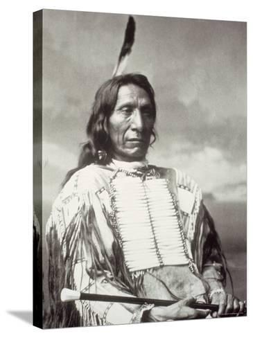 Red Cloud Chief-Charles M^ Bell-Stretched Canvas Print
