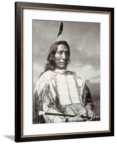 Red Cloud Chief-Charles M^ Bell-Framed Art Print
