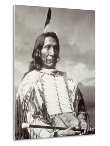 Red Cloud Chief-Charles M^ Bell-Metal Print