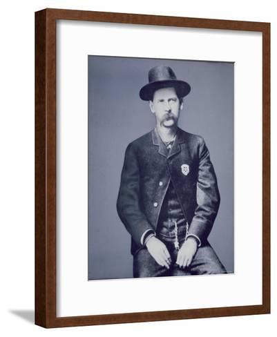 Wyatt Earp--Framed Art Print