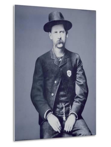 Wyatt Earp--Metal Print