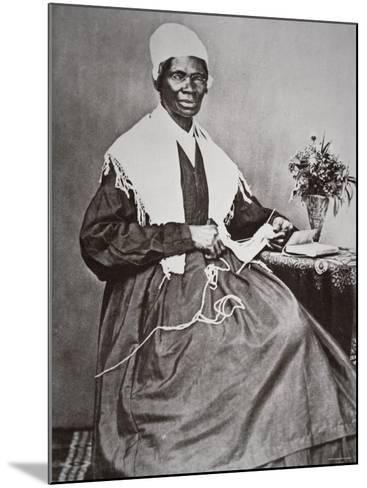 Sojourner Truth--Mounted Photographic Print
