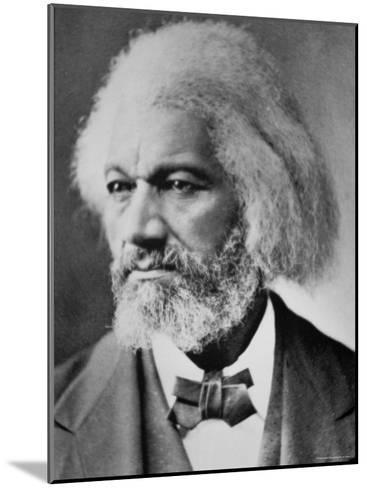 Frederick Douglass-Mathew Brady-Mounted Photographic Print