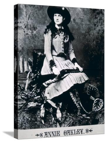 Annie Oakley--Stretched Canvas Print