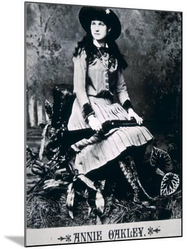 Annie Oakley--Mounted Photographic Print