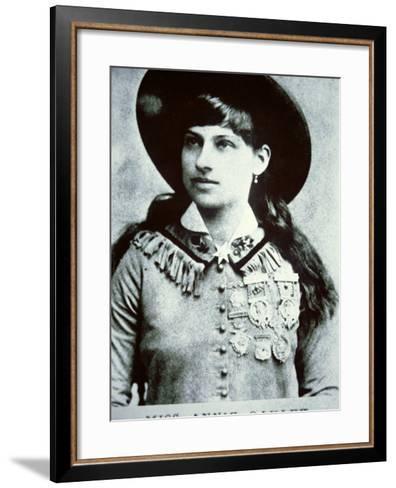 Annie Oakley--Framed Art Print