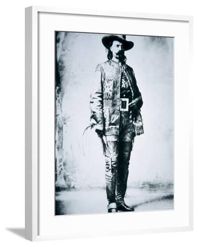 Buffalo Bill Cody--Framed Art Print