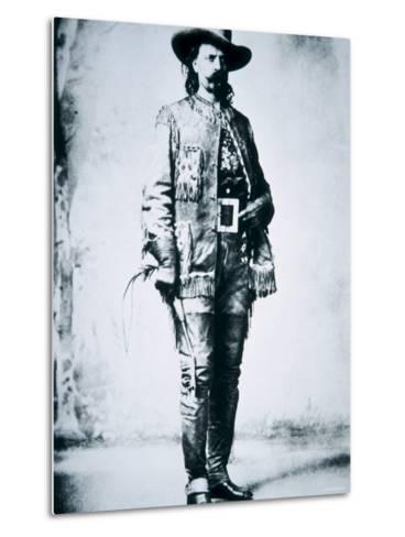 Buffalo Bill Cody--Metal Print