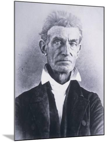 John Brown--Mounted Photographic Print