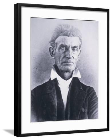 John Brown--Framed Art Print