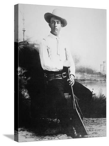 Captain Frank Hamer, c.1910--Stretched Canvas Print