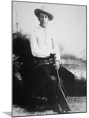 Captain Frank Hamer, c.1910--Mounted Photographic Print