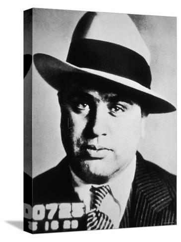 Al Capone, 1929--Stretched Canvas Print