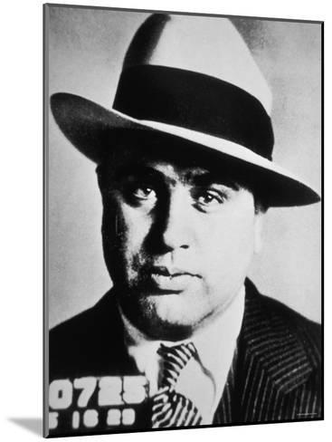 Al Capone, 1929--Mounted Photographic Print