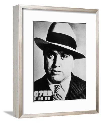 Al Capone, 1929--Framed Art Print