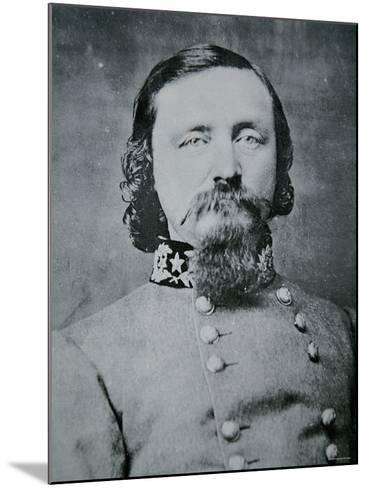 Portrait of General George Pickett--Mounted Photographic Print