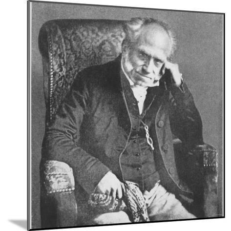 Arthur Schopenhauer, 1854--Mounted Photographic Print