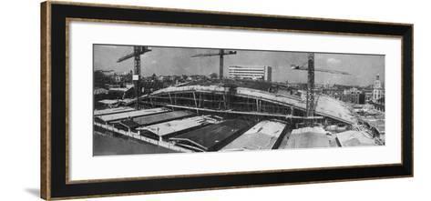 Smithfield Poultry Market, London, 1962--Framed Art Print