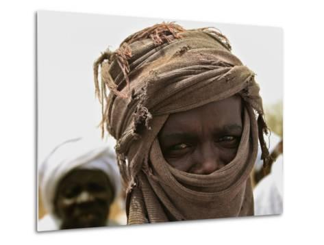 A Sudan Liberation Army, Sla, Fighter from the Faction of Abdelwahid Elnur--Metal Print