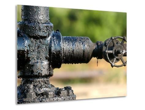 A Control Valve of an Oil Pump--Metal Print