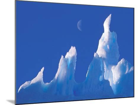 Iceberg, Australian Antarctic Territory, Antarctica-Pete Oxford-Mounted Photographic Print