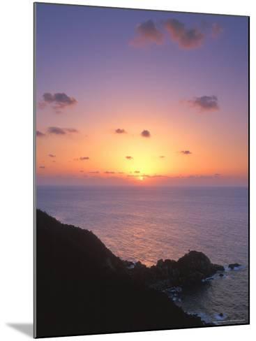 Yakushima Sunset, Kagoshima, Japan-Rob Tilley-Mounted Photographic Print