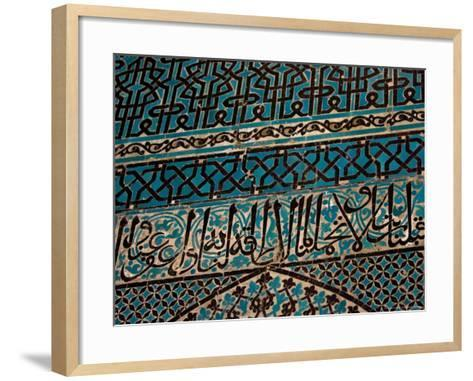 Tile Walls of Tile Museum, Karatay, Turkey-Joe Restuccia III-Framed Art Print