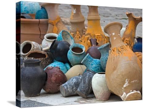 Village Pottery, Turkey-Joe Restuccia III-Stretched Canvas Print