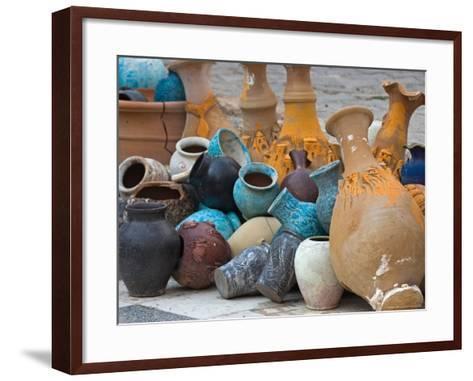 Village Pottery, Turkey-Joe Restuccia III-Framed Art Print