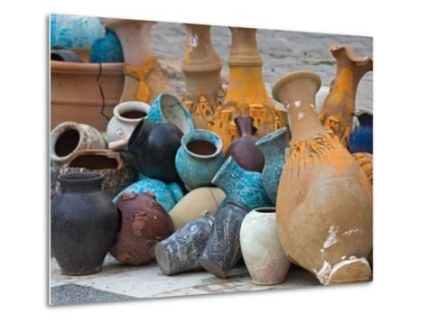 Village Pottery, Turkey-Joe Restuccia III-Metal Print