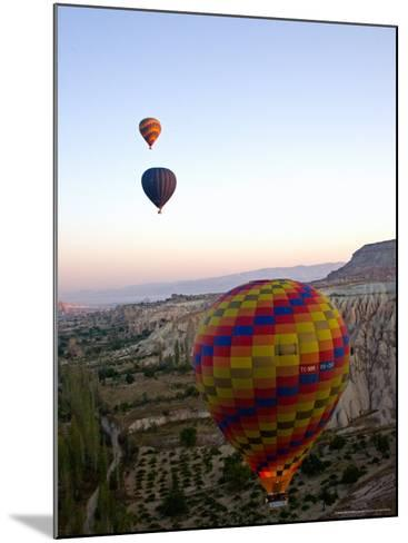 Balloon Ride over Cappadocia, Turkey-Joe Restuccia III-Mounted Photographic Print