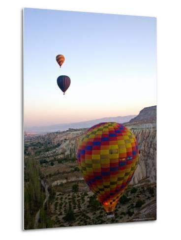 Balloon Ride over Cappadocia, Turkey-Joe Restuccia III-Metal Print